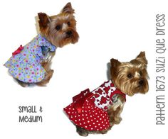 1673 Suzi Que Dog Dress Pattern for the Little by SofiandFriends