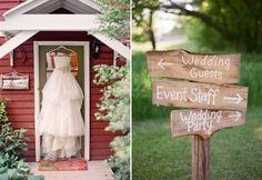 wedding dress shot, rustic wedding signs, Rustic Wedding Style