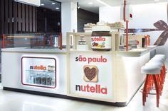 I love everything about this. Nutella Kiosk by Estúdio Jacarandá, São Paulo – Brazil » Retail Design Blog