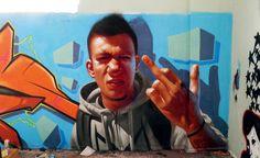 Insane51 graffiti artist from Athens, Greece. Member of the Saketattoocrew family.