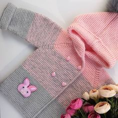 Best 12 – Page 51791464451694522 – Skill - Diy Crafts - Marecipe Baby Cardigan, Baby Vest, Knit Baby Sweaters, Knitted Baby Clothes, Knitted Hats, Crochet Baby Poncho, Crochet Jacket, Diy Crafts Knitting, Kids Poncho