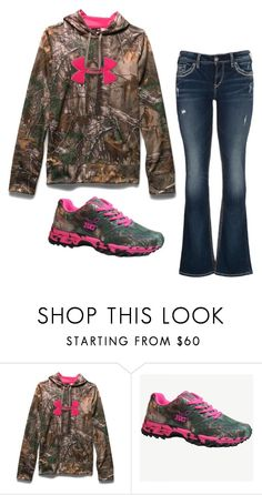 """""""Camo"""" by kaitlyns0512 on Polyvore featuring Under Armour, maurices, women's clothing, women, female, woman, misses and juniors"""
