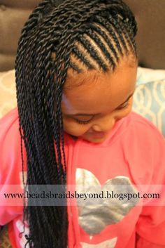 Beads, Braids and Beyond: Cornrows & Sister (Rope) Twists