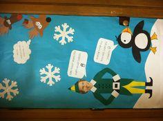 Christmas classroom door decorations- buddy the elf ...