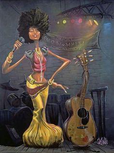 Solangè? Erykah?? #love #black #art