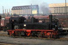 German - A standard gauge Saxon Meyer (98.001) is preserved at the Chemnitz Industrial Museum