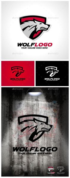 Wolf Logo Template — Vector EPS #company #head • Available here → https://graphicriver.net/item/wolf-logo-template/9623255?ref=pxcr