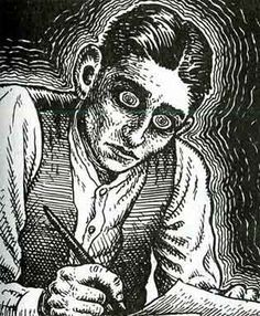 kafka by r crumb. does it get any better? no, the answer is no