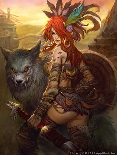 Mujer lobo legend of the cryptids