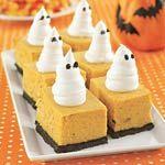 Pumpkin Cheesecake Bars Recipe | MyRecipes.com