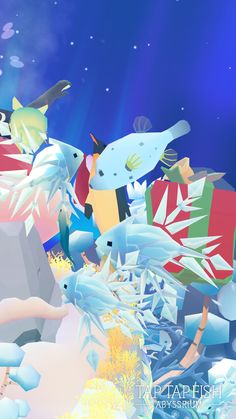 My AbyssRium:)  #taptapfish Download: http://onelink.to/jhe4sh