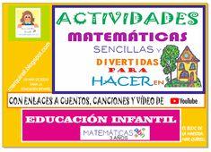 "EL BLOG DE MARÍA DEL MAR QUÍRELL: ""UN MAR DE IDEAS PARA LA EDUCACIÓN INFANTIL"": ""MATEMÁTICAS ABN 1"". ACTIVIDADES MATEMÁTICAS SENCI... Math, Names, Activities, World, Gross Motor Activities, Infant Activities, Math Resources, Mathematics"