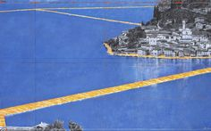 Floating Piers: camminando sulle acque del lago d'Iseo