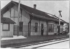 Wabash Railroad Depot, Sturgeon, Missouri, 1905. [SHS of MO-Columbia Photo Collection #2002-0096]