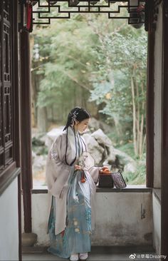 Korean Traditional, Traditional Outfits, Butterfly Pea, Chinese Clothing, China Fashion, Hanfu, Bradley Mountain, Chinoiserie, Cool Photos