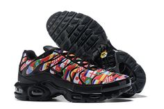 0d550d104efc Newest Nike Air Max Plus Tn NIC QS International Flag Black Multi-color 001  Women s Men s Running Shoes Sneakers