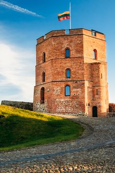 Gediminas Tower in Vilnius #Travel #Lithuania
