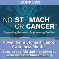 Stomach Cancer Awareness Month | No Stomach For Cancer