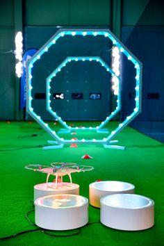 The New DJI Drone Arena (Image via DJI)
