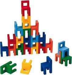 Balancierspiel Stühle / Goki - Loopoo.de
