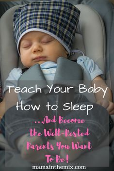 We're all exhausted! And the last thing in the world that we want is to stay up all night because our babies won't stay asleep. Teach your children how to stay asleep a little longer at a time, so that you get that much needed rest. #babysleep, #sleeplikeababy, #babysleepmadesimple.