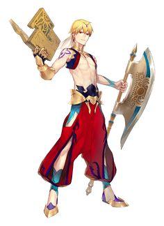 latest (800×1100) Manga Characters, Fantasy Characters, Fictional Characters, Game Character, Character Design, Manga Boy, Manga Anime, Gilgamesh Fate, Fate Servants