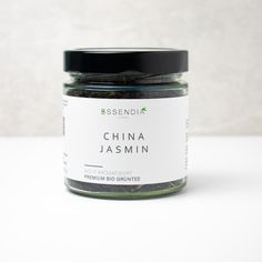 Chinese Jasmin tea is based on the classical green tea and was developed in China centuries ago by adding jasmine blossoms or by evaporating green tea leaves in a hot jasmine blossoms steam bath. The flavor dominating the Chinese Jasmin Tea is a flowery and distinctly sweet one instead of the off-dry mildness a green tea usually has. Classical tea creations contain Jasmin tea leaves only in late summer when the blossoms are ripe enough for this process. Sencha Tea, Tea Varieties, Soy Products, Leaf Coloring, Honey Lemon, Tea Blends, China, Herbal Tea, Essen