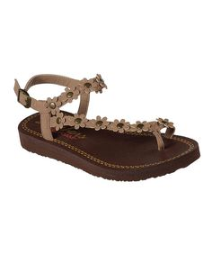 Take a look at this Taupe Meditation Camp Boho Sandal - Women today!