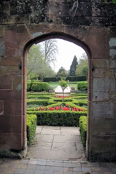 images about English gardens and follies on