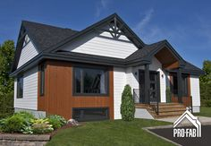 love layout- increase size to accomadate master ensuite and larger walk in, add garage and large mudroom. 2 Bedroom House Plans, Entrance Design, House Paint Exterior, House Painting, House Colors, Home Remodeling, New Homes, Cottage, House Design