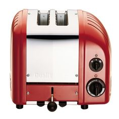 Dualit New Generation Classic 2-Slice Toaster, Red