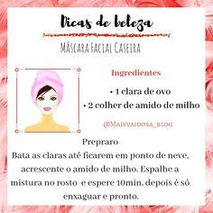 Most current Free Mascara facial caseira Strategies , & Beauty Care, Beauty Skin, Beauty Hacks, Beauty Tips, Eyeliner, Best Mascara, Funny Slogans, Body Hacks, Homemade Face Masks