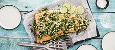 Baked Cod, Bruschetta, Palak Paneer, Avocado Toast, Feta, Salad Recipes, Salsa, Baking, Breakfast