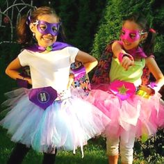 Super hero costume for the super girls in our lives.