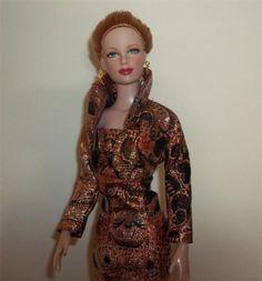Sleeveless Sheath Dress and Bolero fits Tyler Sydney Brenda Starr Tonner Dolls  5 day listing