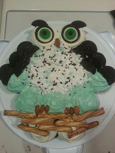 Owl cupcakes! sooo cute