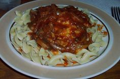 Crock Pot Chicken Cacciatore. Photo by Sanford and Sons.  Easy and fairly tasty, but not like traditional chicken cacciatore.