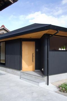 black brown house color outdoor combination
