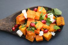 The Hungry Hounds— Moroccan Roasted Sweet Potato Salad