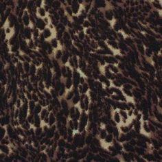 A Leopard Jersey Brown