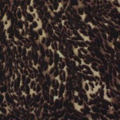 A Leopard Jersey Brown
