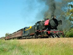 Preserved Steam Locomotives Down Under - J 515 Steam Locomotive, Back In Time, Preserves, Trains, Restoration, Past, History, Preserve, Past Tense