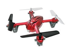 Syma X11 R/C Quadcopter - Red - http://www.midronepro.com/producto/syma-x11-rc-quadcopter-red/