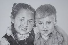 Good morning to you all, here is the completed drawing of the Children. I hope you have enjoyed watching this grow. to see more of my work please visit. http://www.davidtruman.co.uk/
