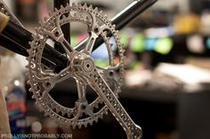 The Making of the Affinity Drillium 212 – Famous Last Words Vintage Bicycle Parts, Vintage Cycles, Vintage Bikes, Cycling Art, Cycling Bikes, 24 Bmx, Dynamo, Bicycle Race, Bicycle Components