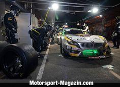 Blancpain GT Serien 2014, 24 Stunden von Spa, Spa-Francorchamps, Marc VDS Racing Team, Bild: Günter Kortmann
