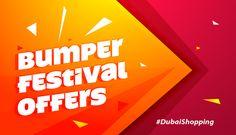 Festival offers Shopping Deals Dubai- Gran the deals today!!!