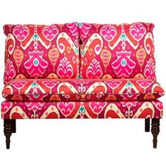 Shop for Skyline Furniture Market Marvel Sunset Armless Love Seat. Get free shipping at Overstock.com - Your Online Furniture Outlet Store! Get 5% in rewards with Club O! - 19304323