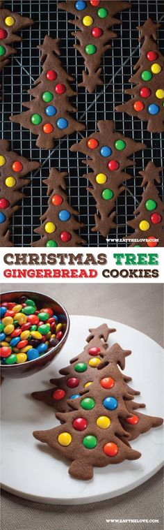 Easy to make Gingerbread Christmas Tree Cookies. Photo and recipe by Irvin Lin of Eat the Love.