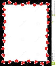 valentines day borders